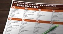 Free Barbecue Party Checklist