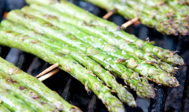 Skewered Asparagus