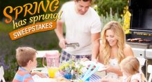 Spring has Sprung Sweepstakes