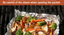 How to Grill Vegetables in a Foil Packet