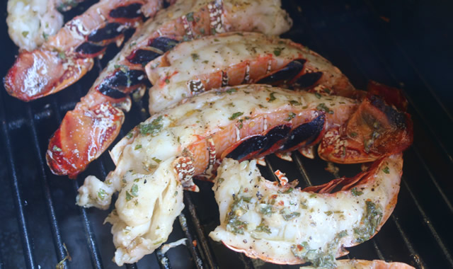 Grilled Lobster Tail Recipe | Griller's Spot
