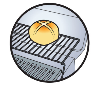 Gas Burner State - Warming Rack